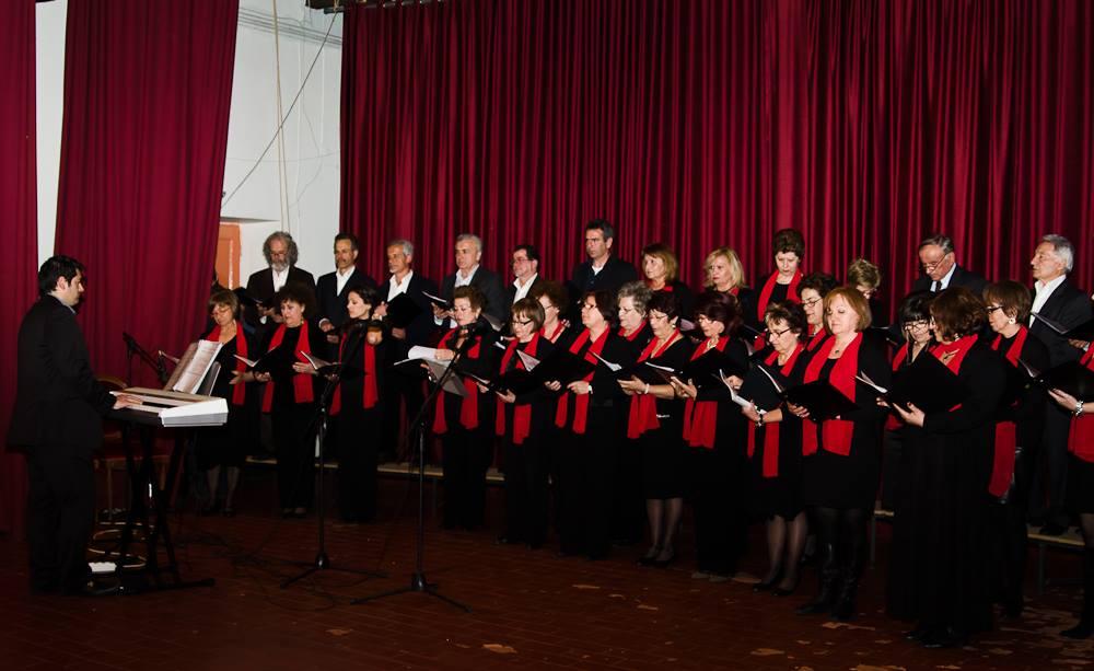 Συμμετοχή της χορωδίας του ΠΚΕ ΟΤΕ Πάτρας Αχαΐας σε Χορωδιακή συνάντηση στην Αγριά Βόλου